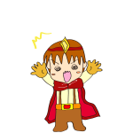 RPG素材_勇者赤_びっくり