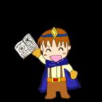 RPG素材_勇者青_ゲット_本