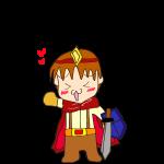 RPG素材_勇者赤_喜び