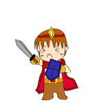 RPG素材_勇者赤_攻撃