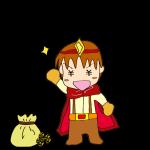 RPG素材_勇者赤_ゲット_お金