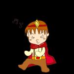 RPG素材_勇者赤_ノリノリ