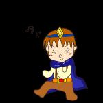 RPG素材_勇者青_ノリノリ