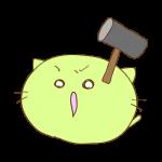 ラクガキ素材 ハンマー_攻撃