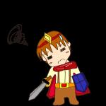 RPG素材_勇者赤_悩む