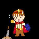 RPG素材_勇者赤_負け