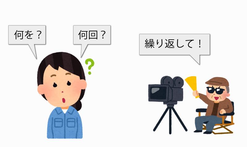 For解説【繰返しの要素】